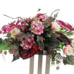 kompozycja z kwiatów sztucznych nr.10