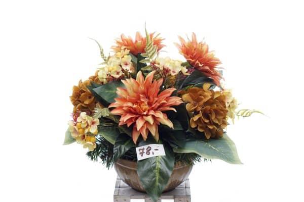 kompozycja z kwiatów sztucznych nr.5