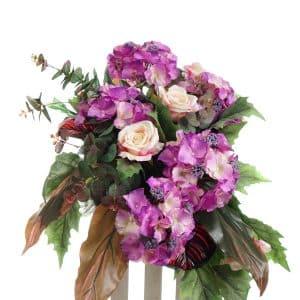 kompozycja z kwiatów sztucznych nr.6