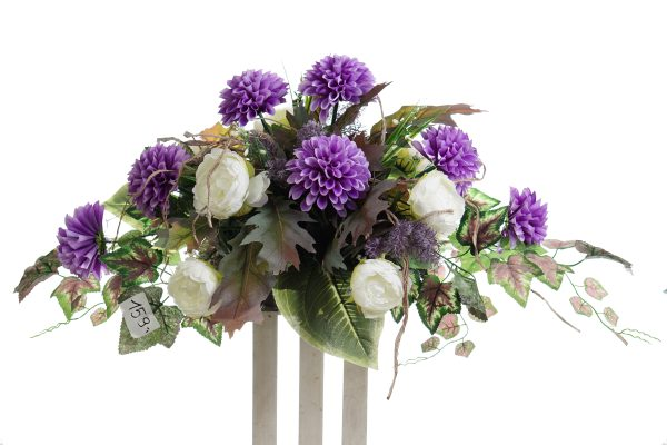 kompozycja z kwiatów sztucznych nr.9